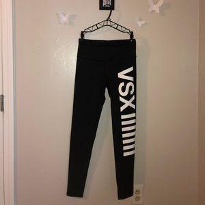 Victoria's Secret VSX Sport Black Leggings